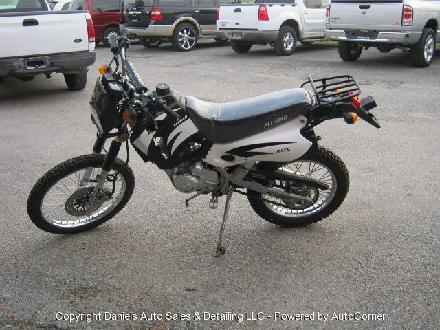2009 Shineray Allroad 200 CC DIRTBIKE